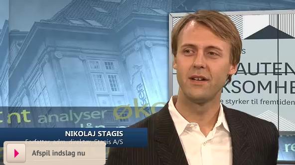 Nikolaj Stagis på BørsenTV