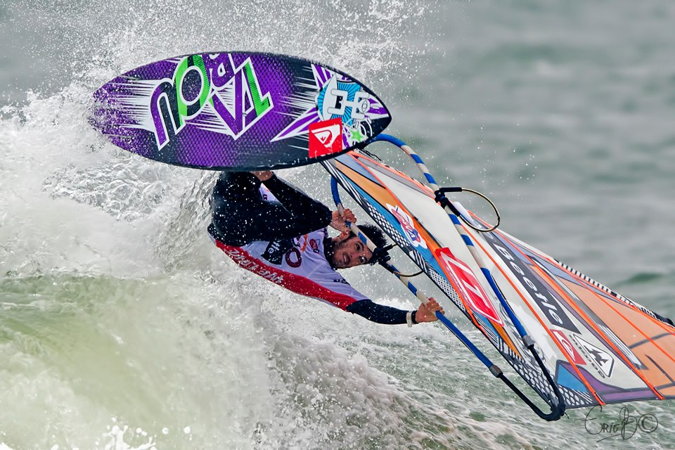 Thomas Traversa at 2012 Cold Hawaii PWA World Cup